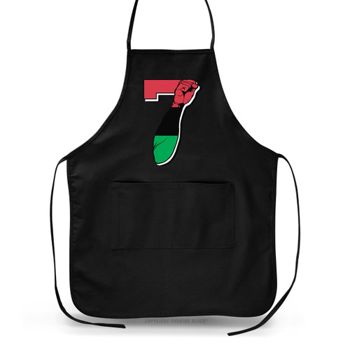7 Garvey Fist Up - Colin Kaepernick Apron