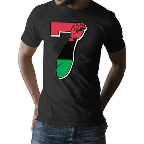 7 Garvey Fist Up - Colin Kaepernick Unisex T-Shirt