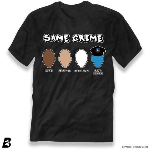 'Same Crime, Different Time' Premium Unisex T-Shirt