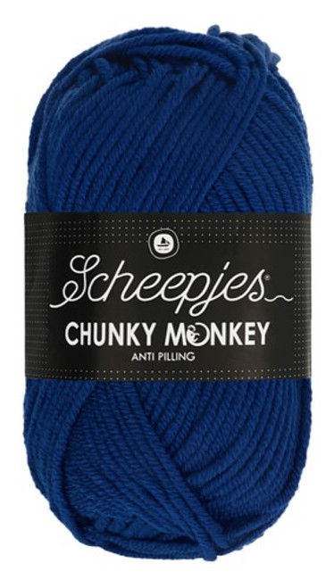 Scheepjes Chunky Monkey Royal Blue
