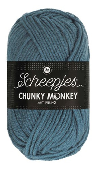 Scheepjes Chunky Monkey Air Force Blue