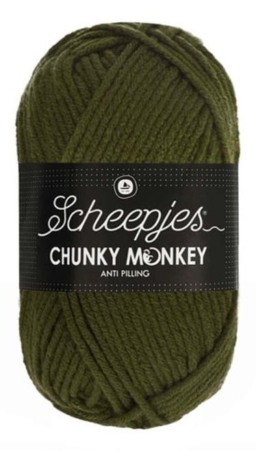 Scheepjes Chunky Monkey Moss Green