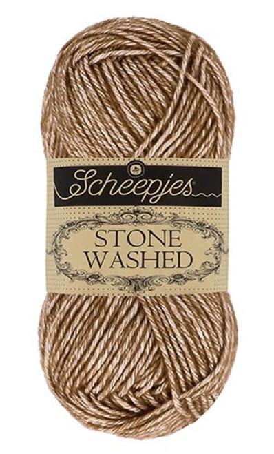 Scheepjes Stone Washed Brown Agate