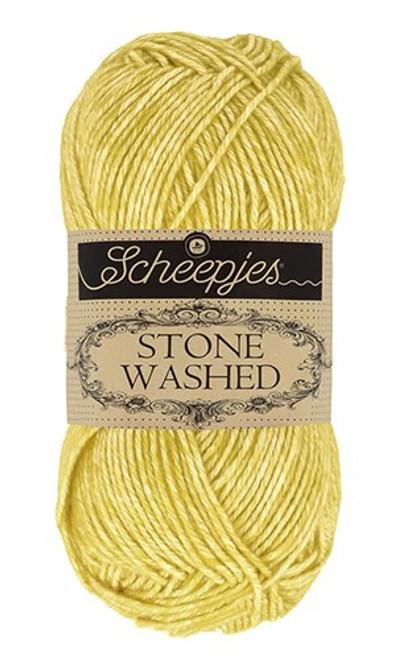 Scheepjes Stone Washed Lemon Quartz