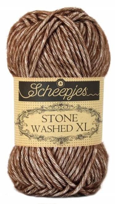 Scheepjes Stone Washed XL Brown Agate