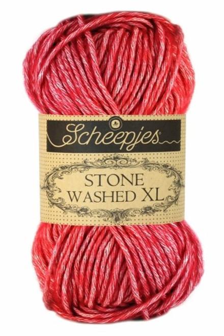 Scheepjes Stone Washed XL Red Jasper