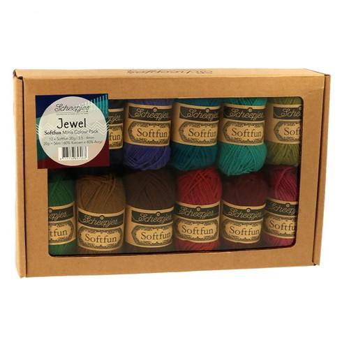 Scheepjes Softfun Minis Colour Pack 65706 Jewel