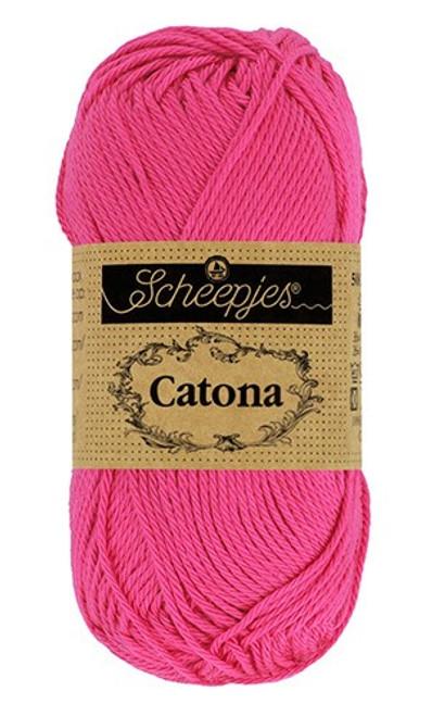 Scheepjes Catona 50g 114 Shocking Pink