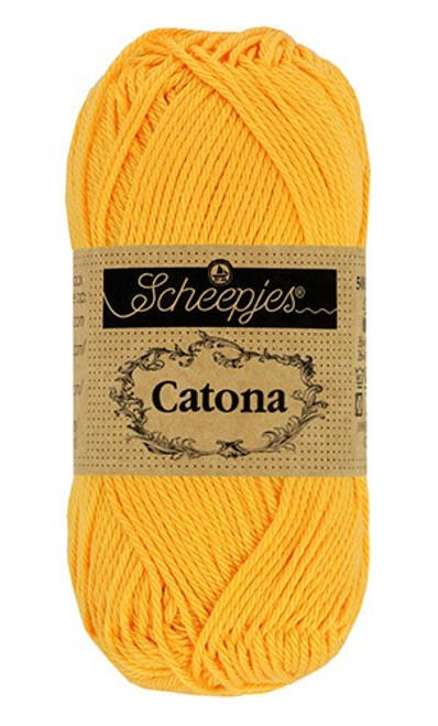 Scheepjes Catona 50g 208 Yellow Gold