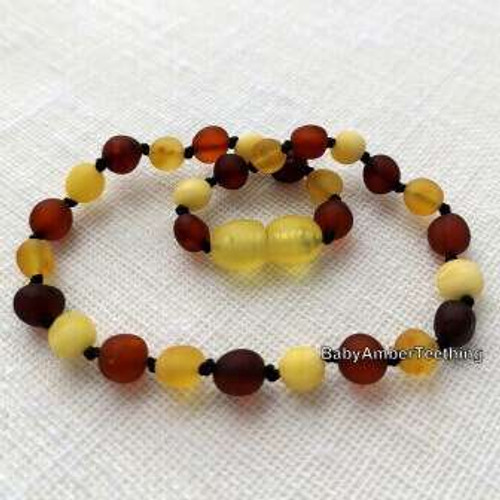 """Big luck"" amber necklace"