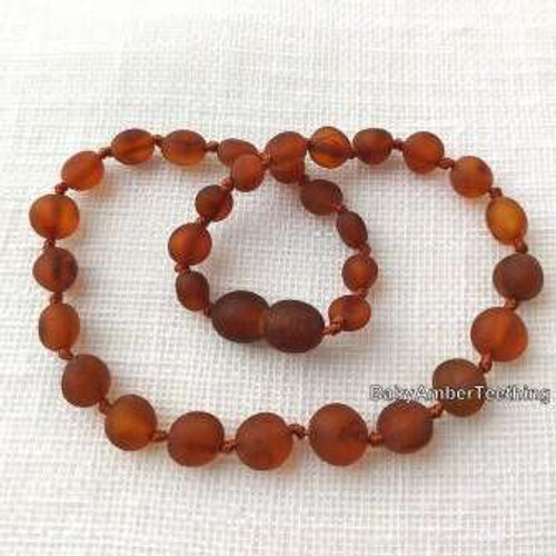 """Merry maker"" amber necklace"