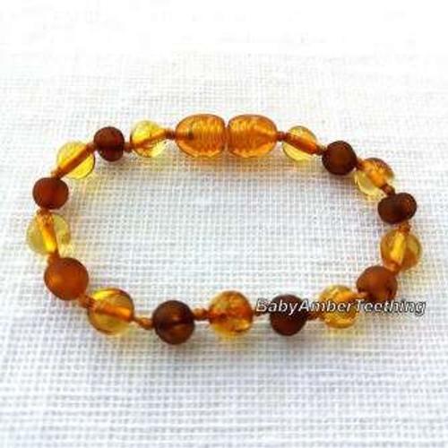 """Baby"" amber bracelet/anklet"