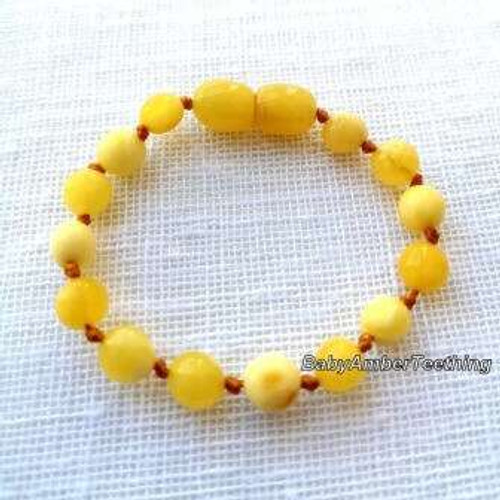 """Butterscotch"" bracelet/anklet"