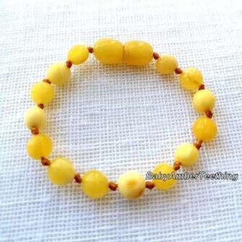 """""""Butterscotch"""" bracelet/anklet"""