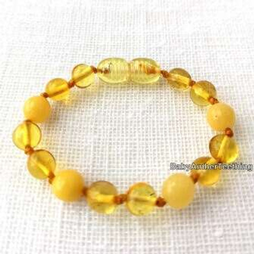 Lemon & honey bracelet/anklet