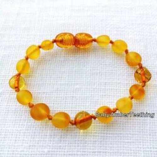 """Honey"" bracelet/anklet"