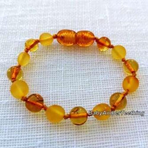 Baltic amber - raw bracelet/anklet