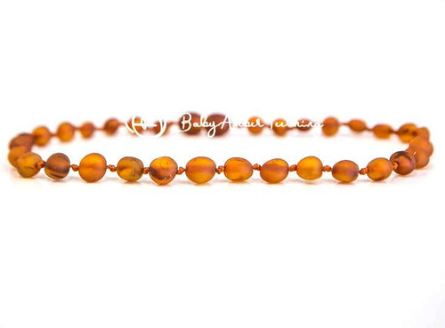 "Amber necklace baby ""raw"""