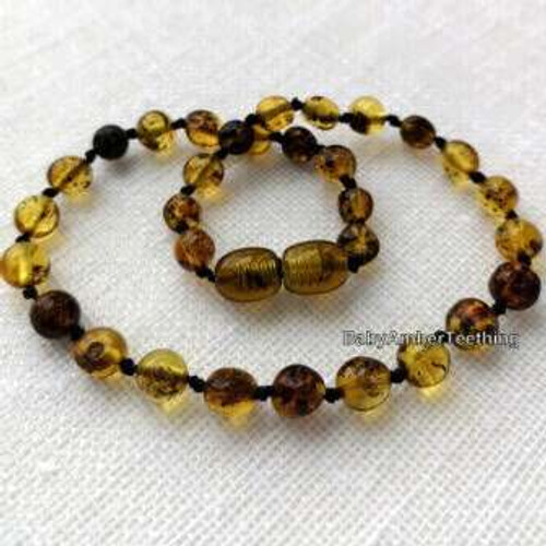 """Sweetie candy"" amber necklace"