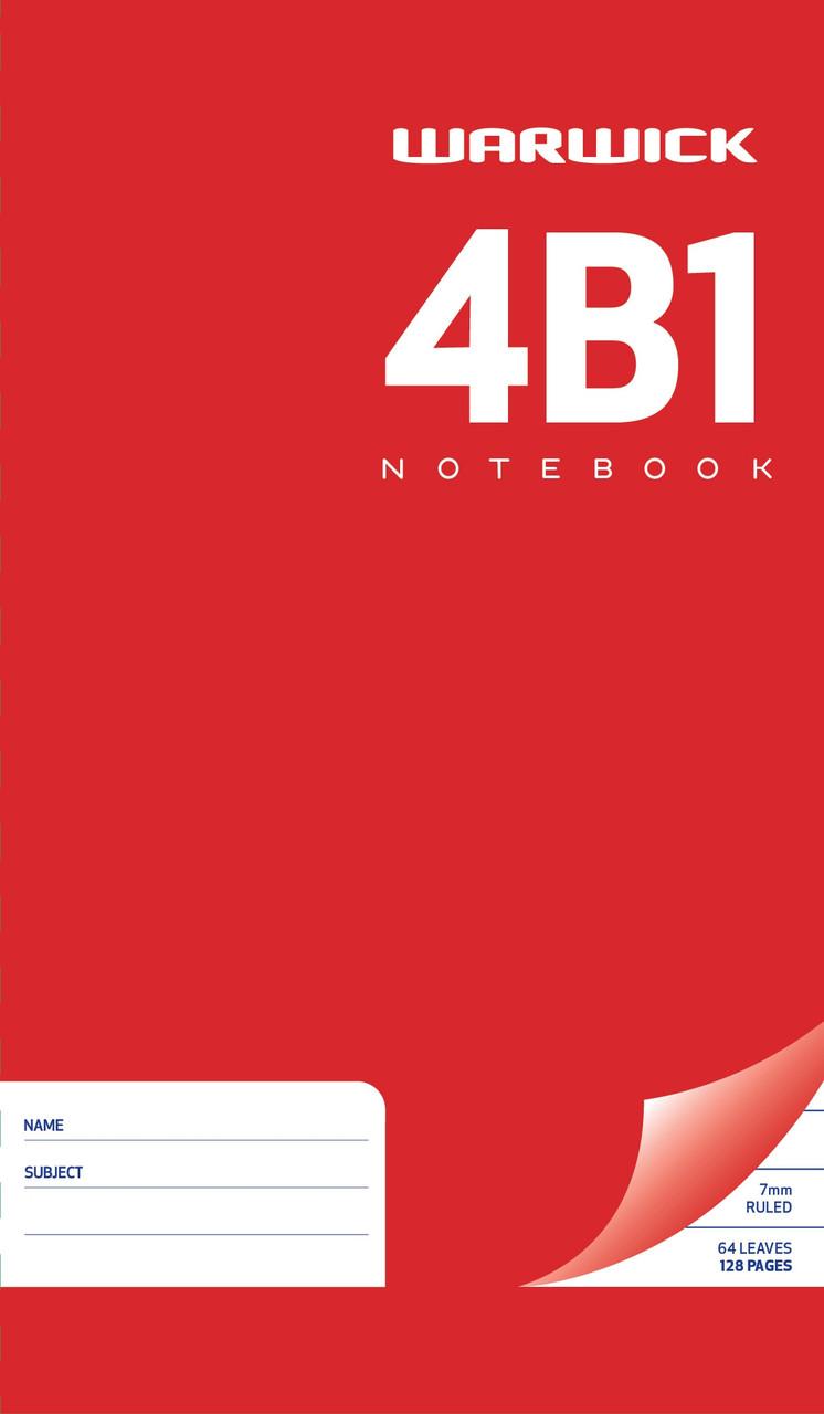 4B1 Hardcover Notebook (165x100mm) 64lf