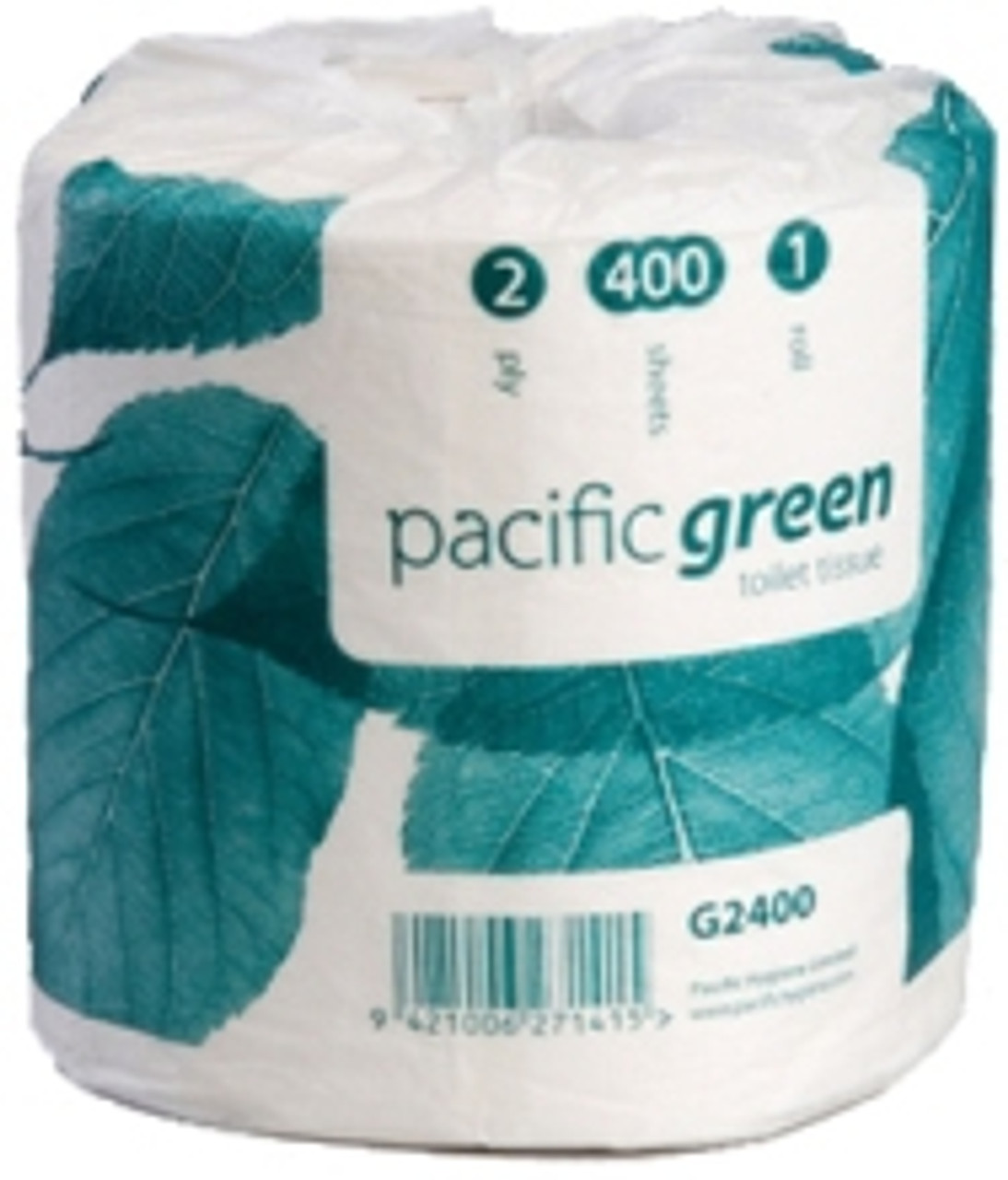 PACIFIC GREEN 100% RECYCLED TOILET TISSUE  CARTON 48