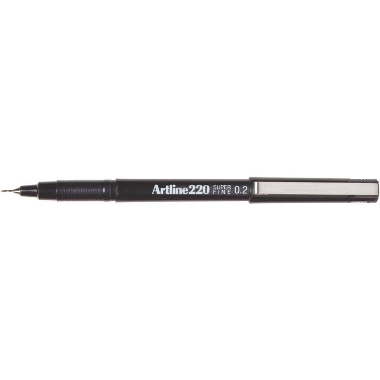 ARTLINE 220 FINELINER PEN, BLACK