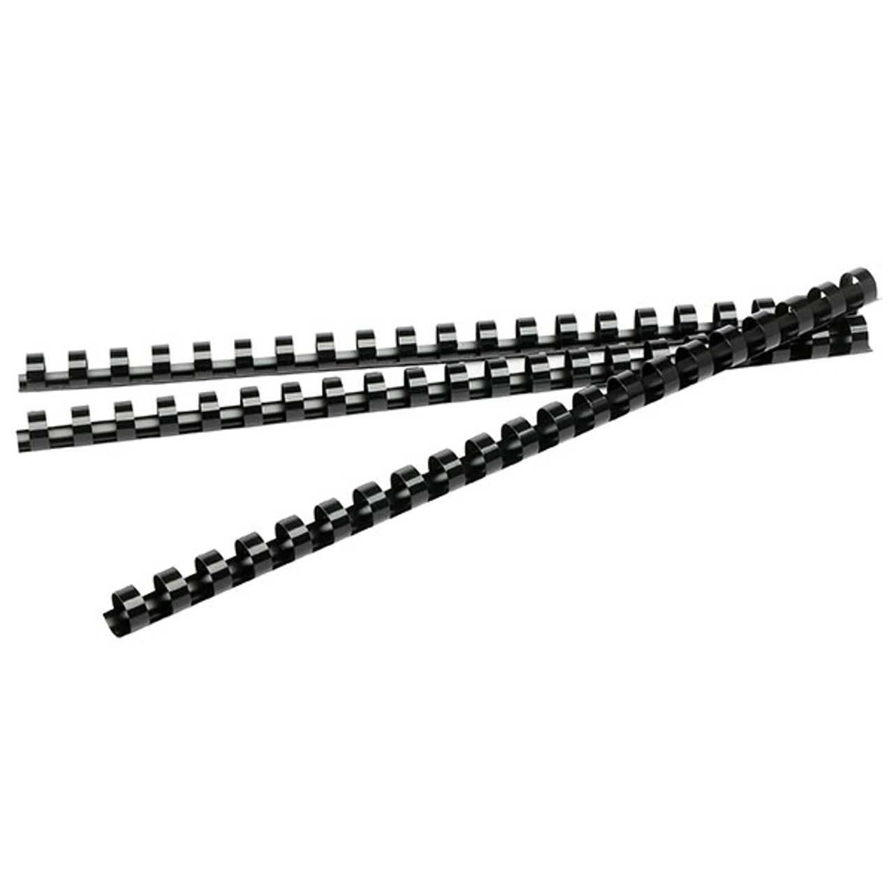 BINDING COILS 25MM (BLACK)  PKT 50