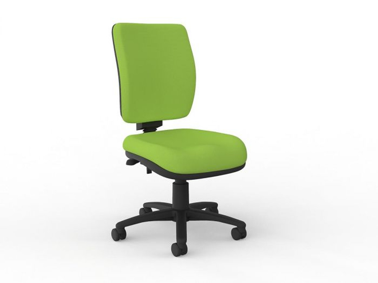Picture of: Nova Luxe Highback Task Chair Lime Green Qizzle