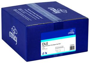 ENVELOPES DLE WHITE WINDOW SELF-SEAL  BOX 500