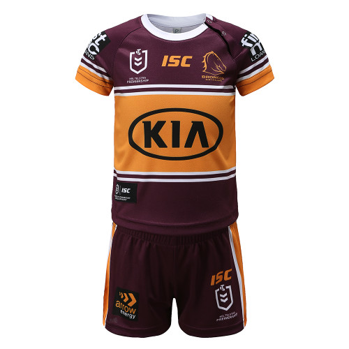 Brisbane Broncos 2020 TODDLER HOME JERSEY SET