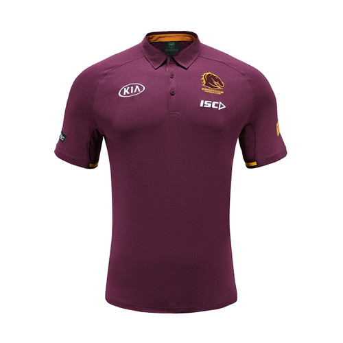 Brisbane Broncos 2020 KIDS MEDIA POLO
