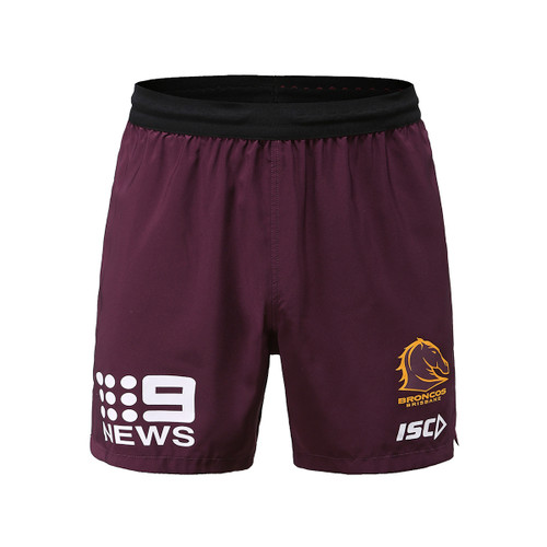 Brisbane Broncos 2020 MENS TRAINING SHORTS