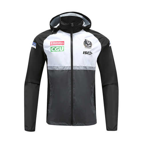 Collingwood Magpies 2020 KIDS WET WEATHER JACKET