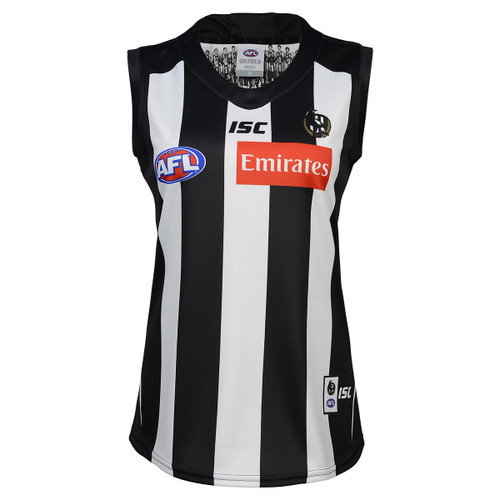Collingwood Magpies 2020 WOMENS HOME GUERNSEY