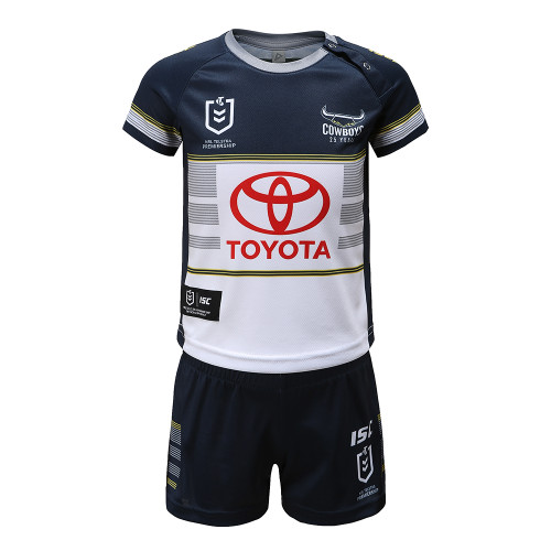 North Queensland Cowboys 2020 TODDLER HOME JERSEY SET