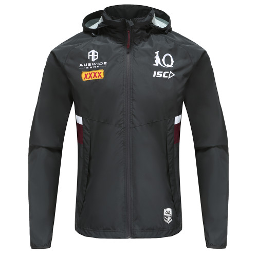 Queensland Maroons 2020 MENS WET WEATHER JACKET