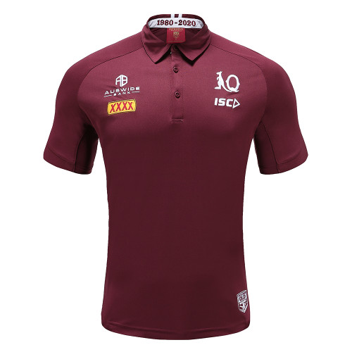 Queensland Maroons 2020 MENS PERFORMANCE POLO