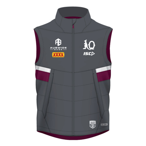 Queensland Maroons 2020 WOMENS PADDED VEST
