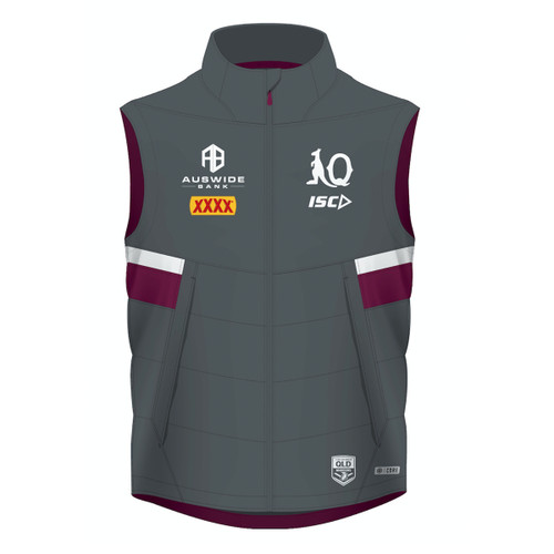 Queensland Maroons 2020 MENS PADDED VEST