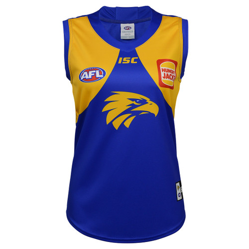 West Coast Eagles 2020 WOMENS HOME GUERNSEY