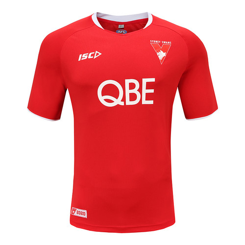Sydney Swans 2020 MENS TRAINING TEE - RED