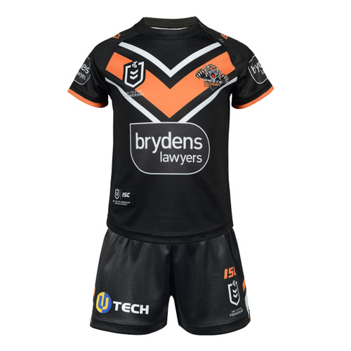 Wests Tigers 2020 TODDLER HOME JERSEY SET