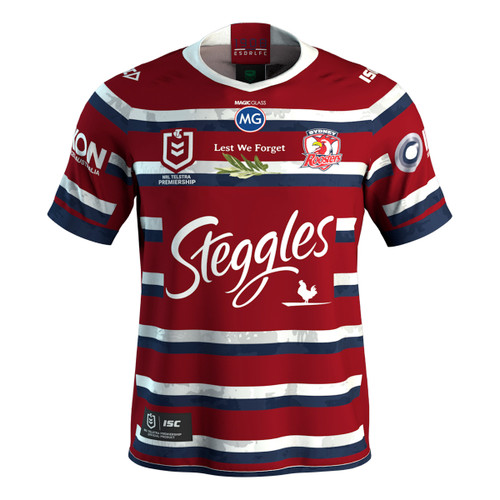 Sydney Roosters 2020 MENS ANZAC JERSEY