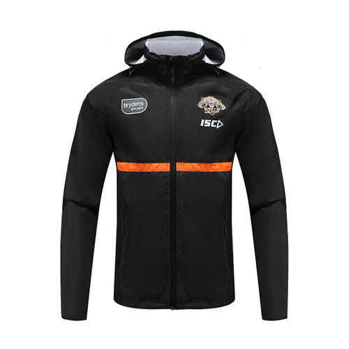 Wests Tigers 2020 KIDS WET WEATHER JACKET