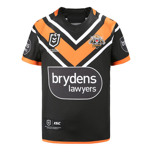 Wests Tigers 2020 KIDS HOME JERSEY