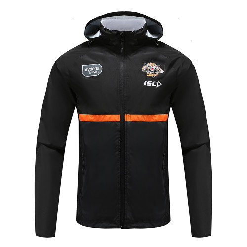 Wests Tigers 2020 MENS WET WEATHER JACKET