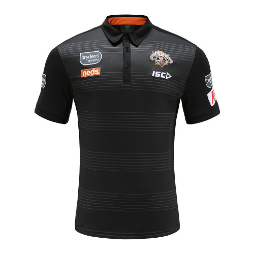 Wests Tigers 2020 MENS MEDIA POLO