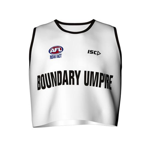 AFL Sydney Boundary Umpire Bib made by ISC Sport