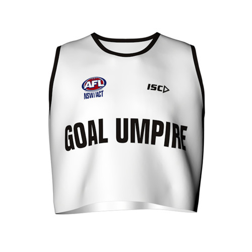 AFL Sydney Goal Umpire Bib by ISC Sport