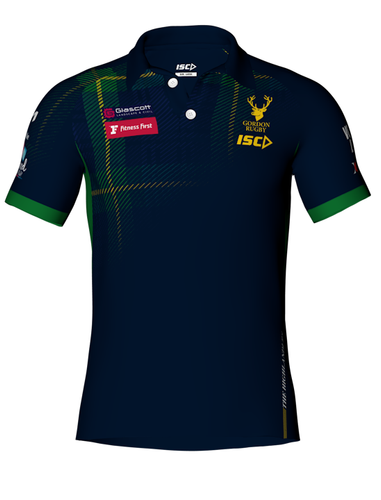 Gordon Rugby Men's Polo by ISC Sport